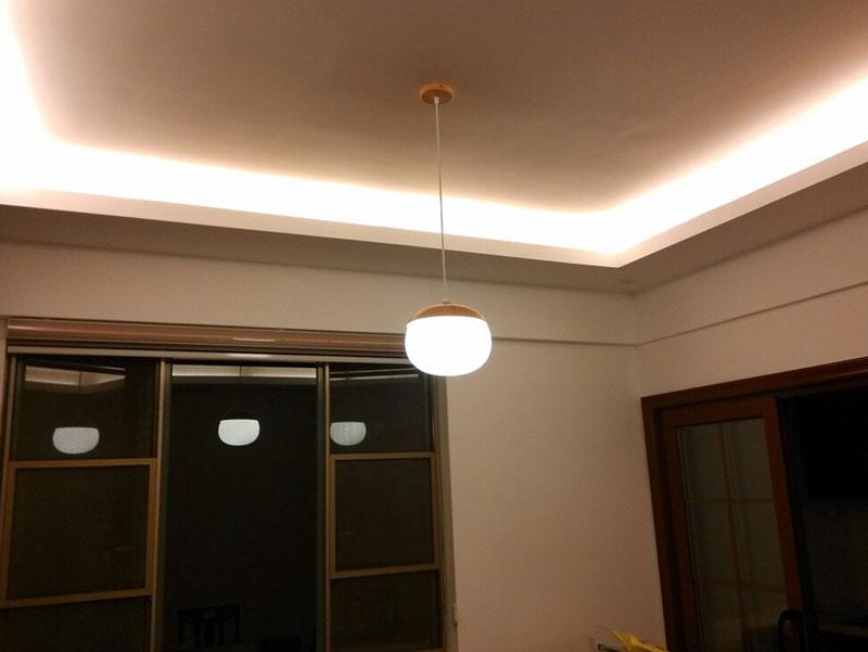 đèn thả gỗ