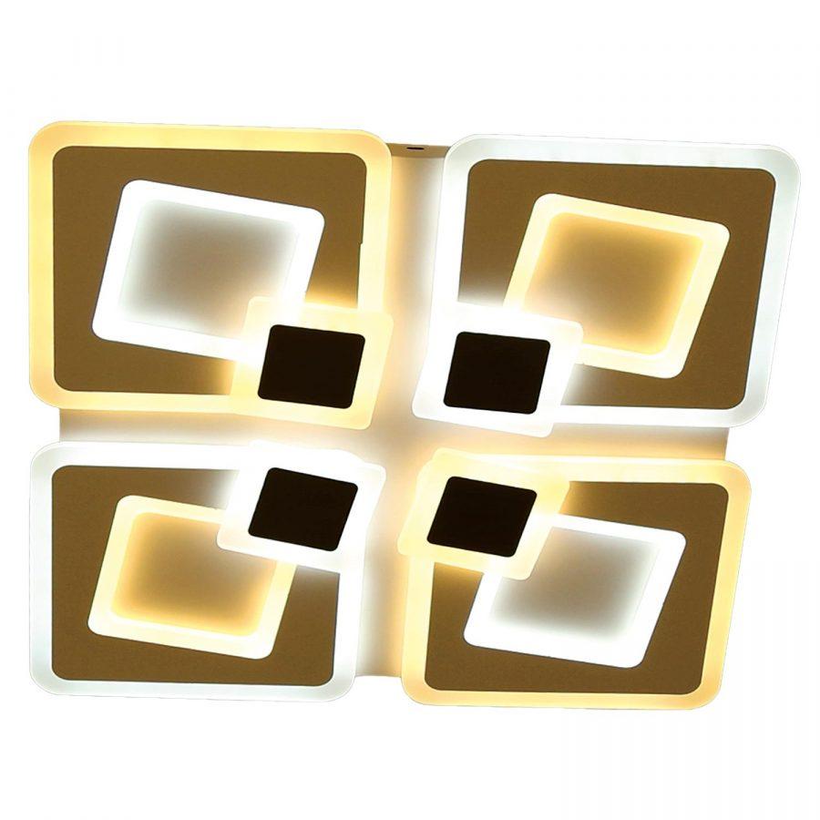 Đèn ốp trần LED mâm nhiều hình vuông 500x500 Venus SR6168BC