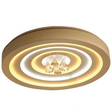 Đèn ốp trần LED mâm tròn 600mm đính hạt pha lê Venus SZ8021