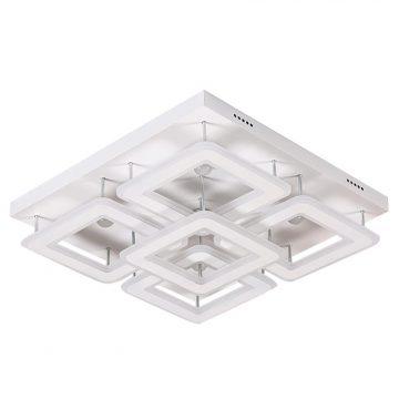 Đèn ốp trần LED 5 ô vuông mâm 550x550 Venus KD6820