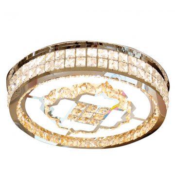 Đèn ốp trần LED pha lê mâm tròn 600mm Venus SH85209