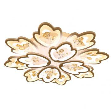 Đèn ốp trần LED hình bông hoa 12 cánh 800mm Venus NF9805/8+4 (120W)