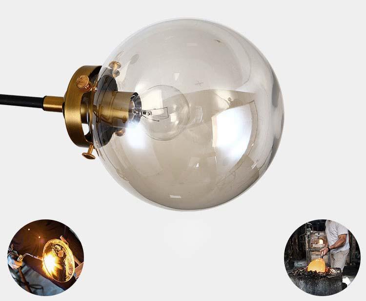 đèn thả chùm bóng tròn