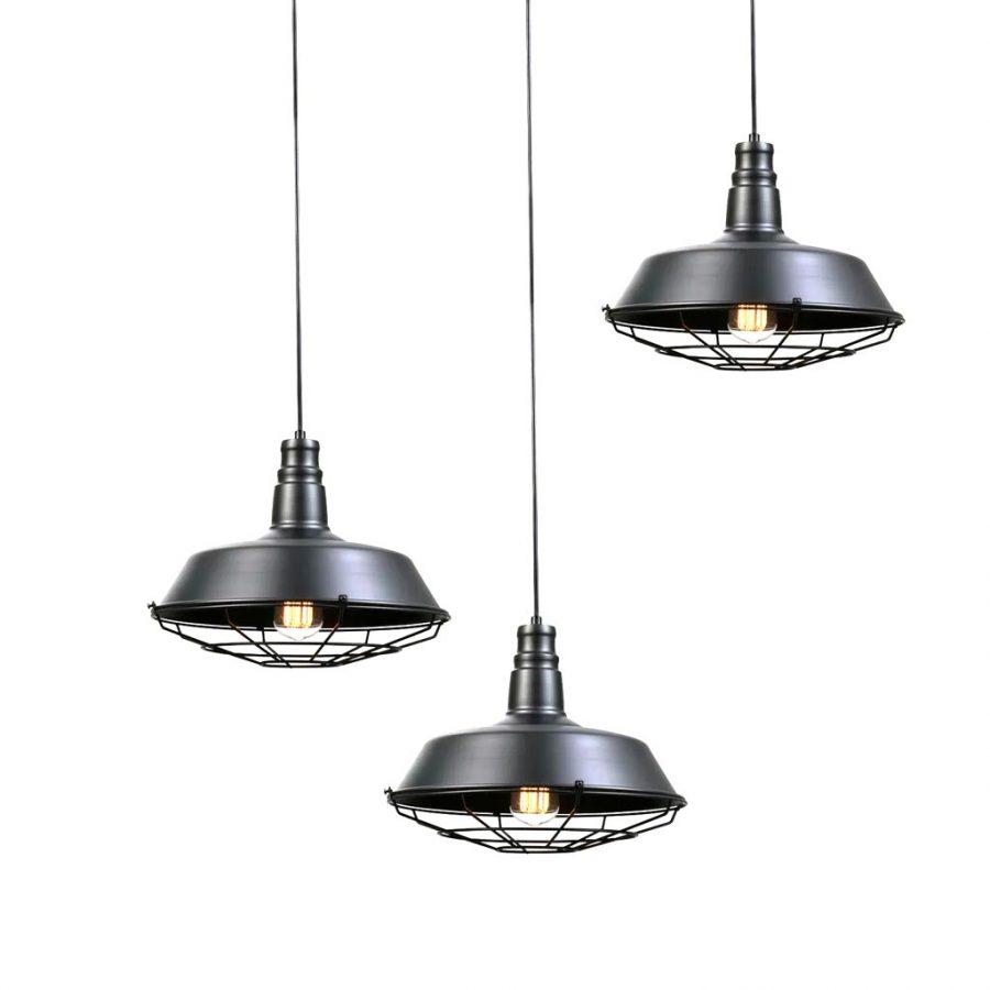 Đèn thả công nghiệp nhôm sắt Venus 9009LB