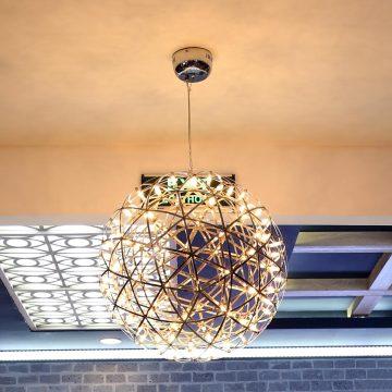 Đèn thả trái cầu lưới nhiều bóng Venus 9066 400mm