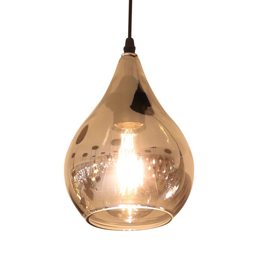 Bộ đèn thả thủy tinh đen cao cấp Venus 9653/3
