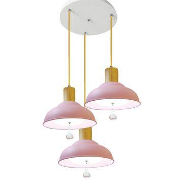 Bộ đèn thả màu hồng pastel Venus CF7696