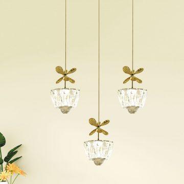 Bộ đèn thả pha lê Venus CRE602/3