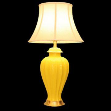 Đèn bàn chụp vải thân gốm VENUS KT7013