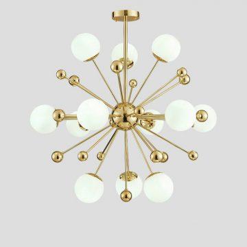 Đèn chùm Bóng Thủy tinh trắng VENUS NY985