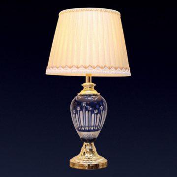Đèn bàn chụp vải thân giả gỗ VENUS T1605