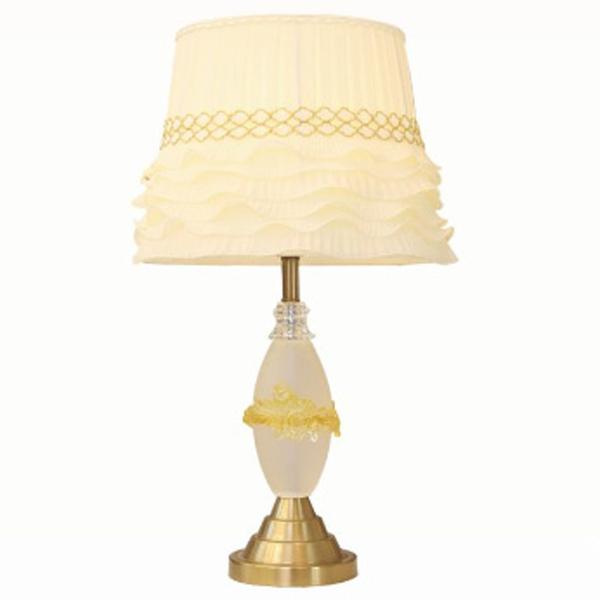 đèn bàn thủy tinh venus T8832