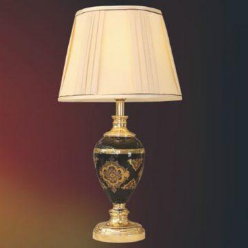 Đèn bàn chụp vải thân thủy tinh VENUS TB1714