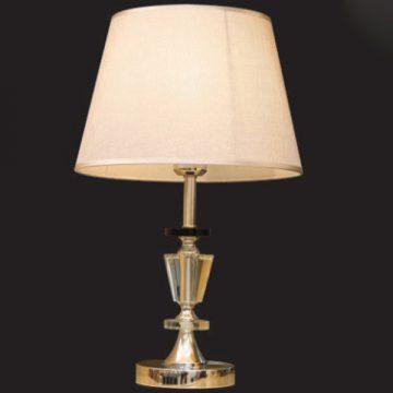 Đèn bàn chụp vải thân thủy tinh VENUS TS8740