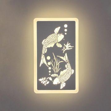 Đèn tường LED tranh cá chép Venus V8122