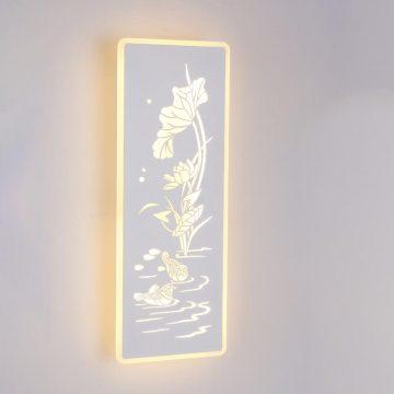 Đèn tường LED hoa sen & uyên ương Venus MB6299
