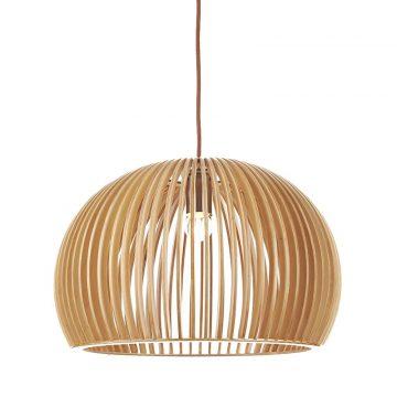 Đèn thả gỗ tròn Φ320 Venus 9162