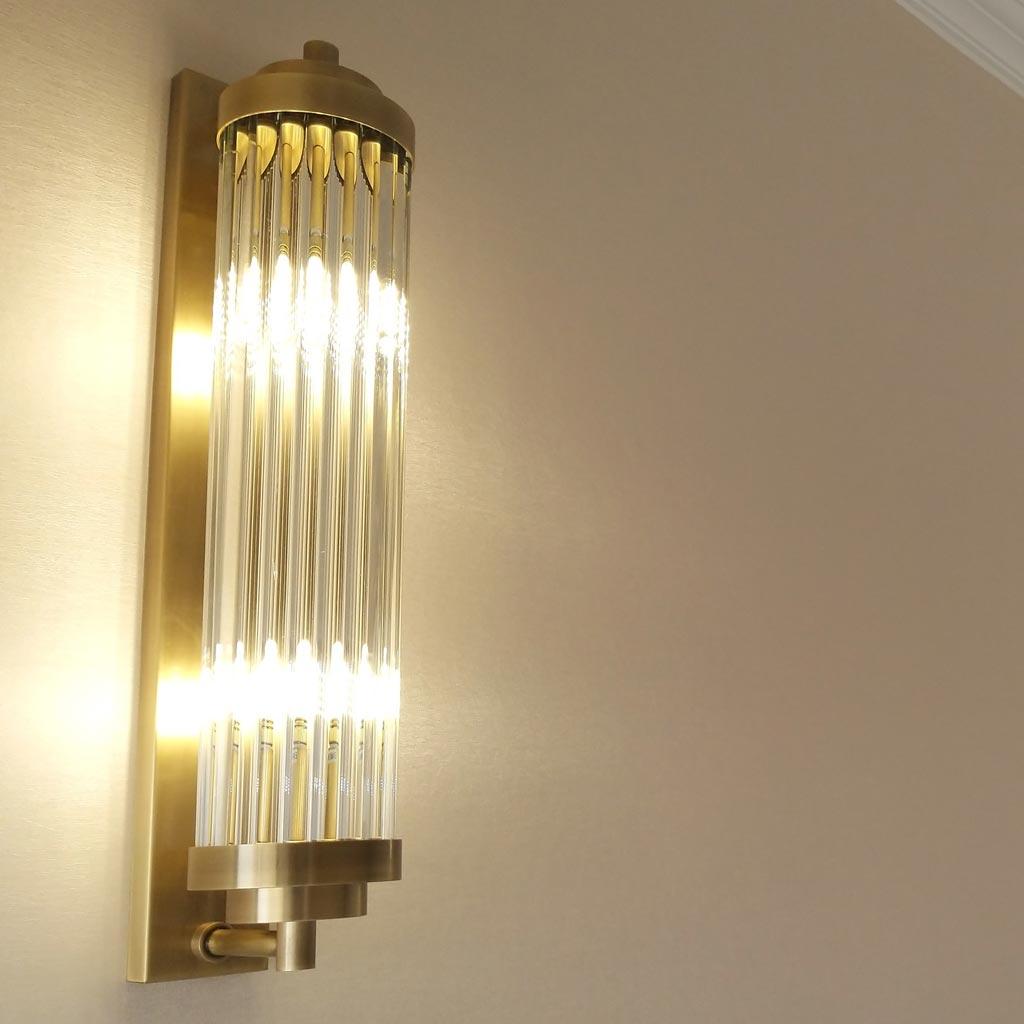 đèn tường trang trí cao cấp pha lê