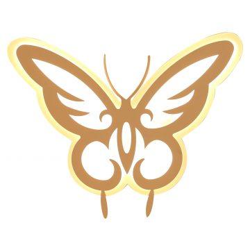 Đèn LED dán tường hình con bướm Venus L8208/20W
