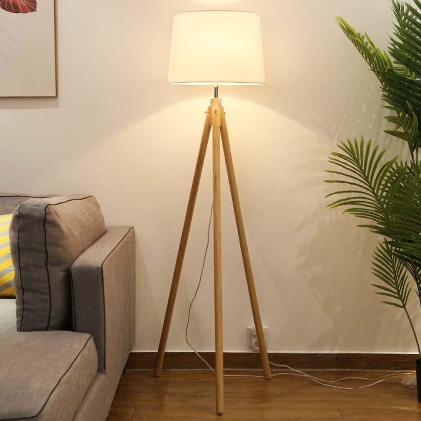 Đèn cây trang trí 3 chân gỗ thanh lịch Venus ML10063