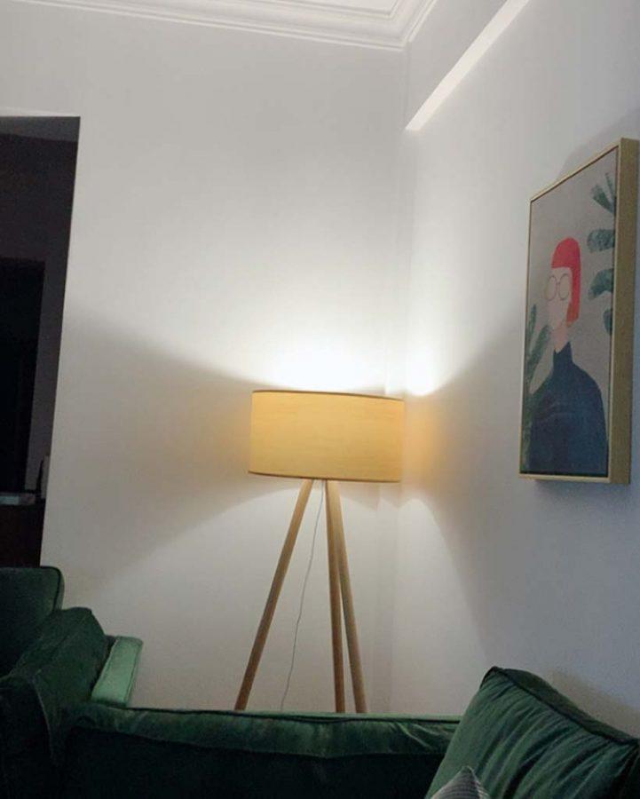 Đèn cây trang trí bằng gỗ cao cấp Venus DC538