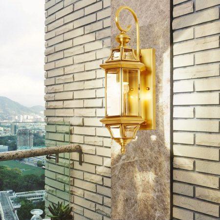 Đèn tường ngoài trời cổ điển Venus 2258B