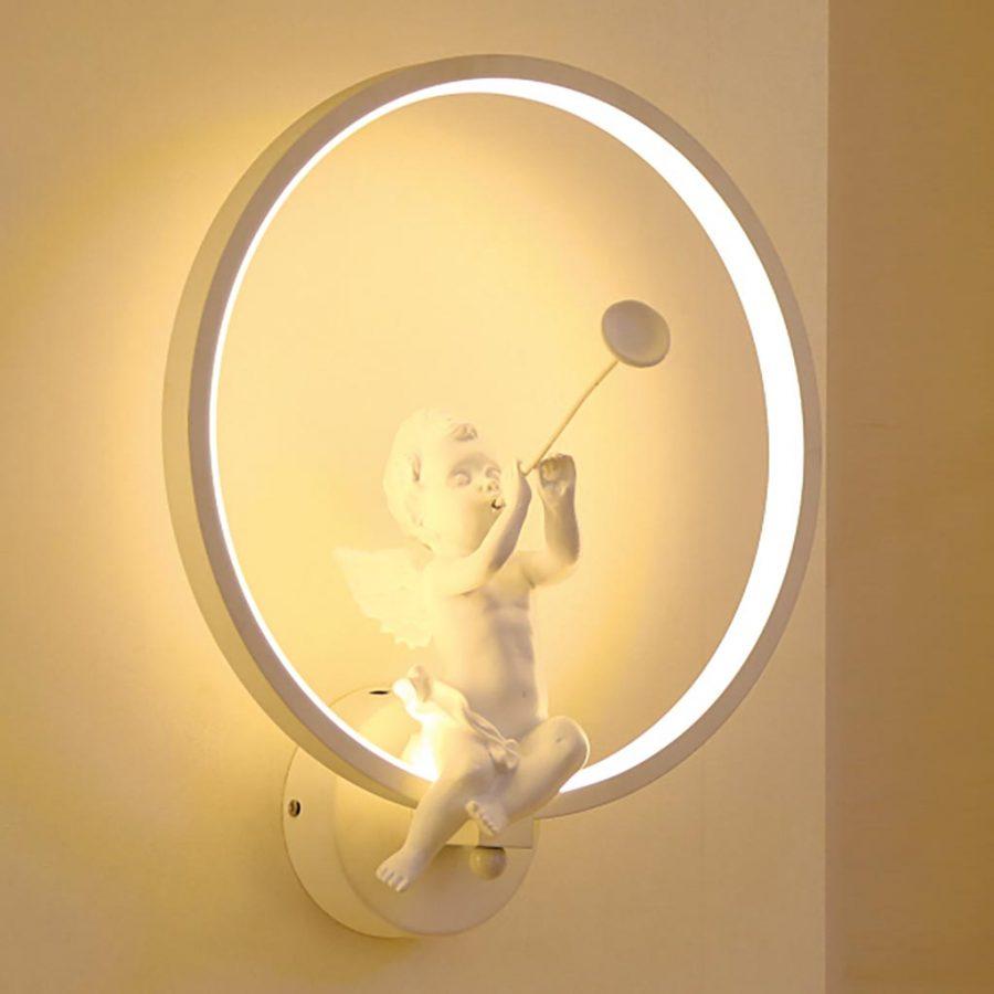 Đèn treo tường thiên thần sứ thổi kèn Venus AG86953
