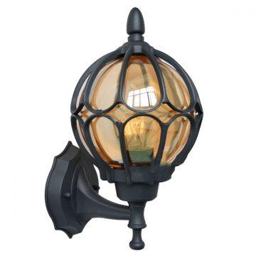 Đèn tường quả cầu sắt thủy tinh Venus 0097AS