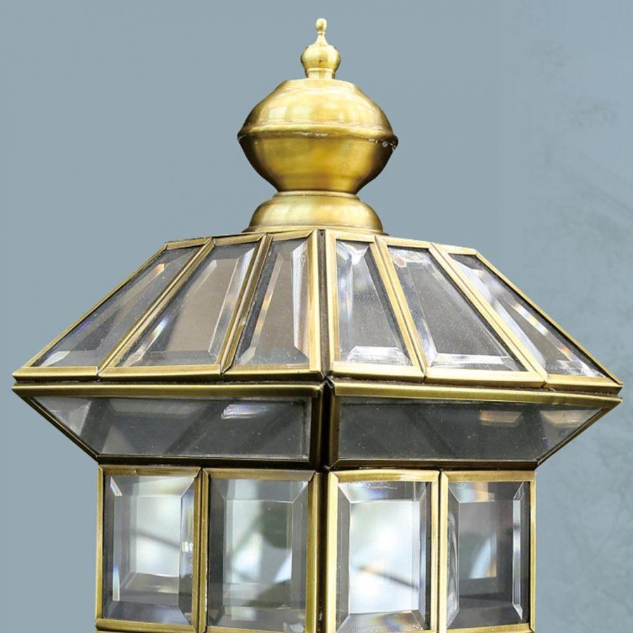Đèn trụ cổng ngoài trời giả đồng cổ điển Venus Z6002/1