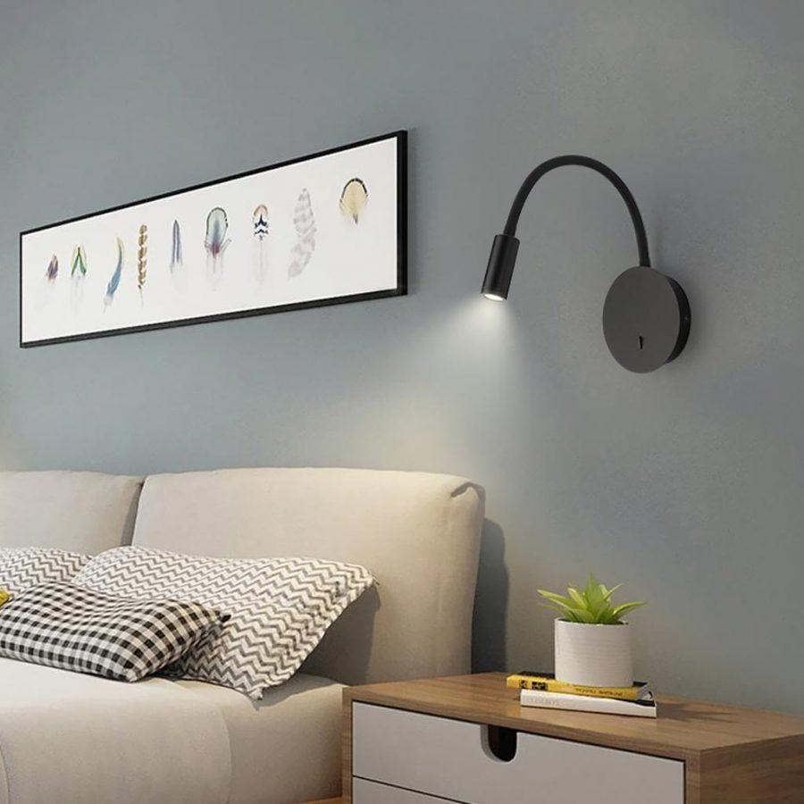 Đèn rọi gắn tường đầu giường ngủ và bàn làm việc Venus RO1418