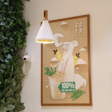 Đèn thả đơn hiện đại màu trắng VENUS 6988/1 (nhiều kiểu)