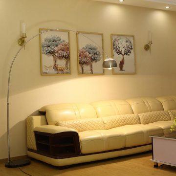 Đèn cây trang trí phòng khách & đọc sách hiện đại Venus 2008-2A