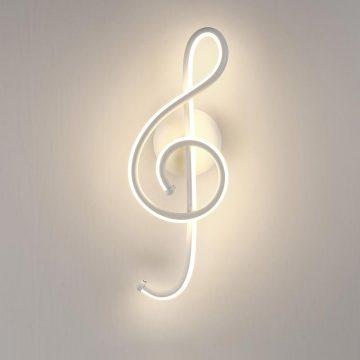 Đèn tường LED hình nốt nhạc Venus L6099/21W