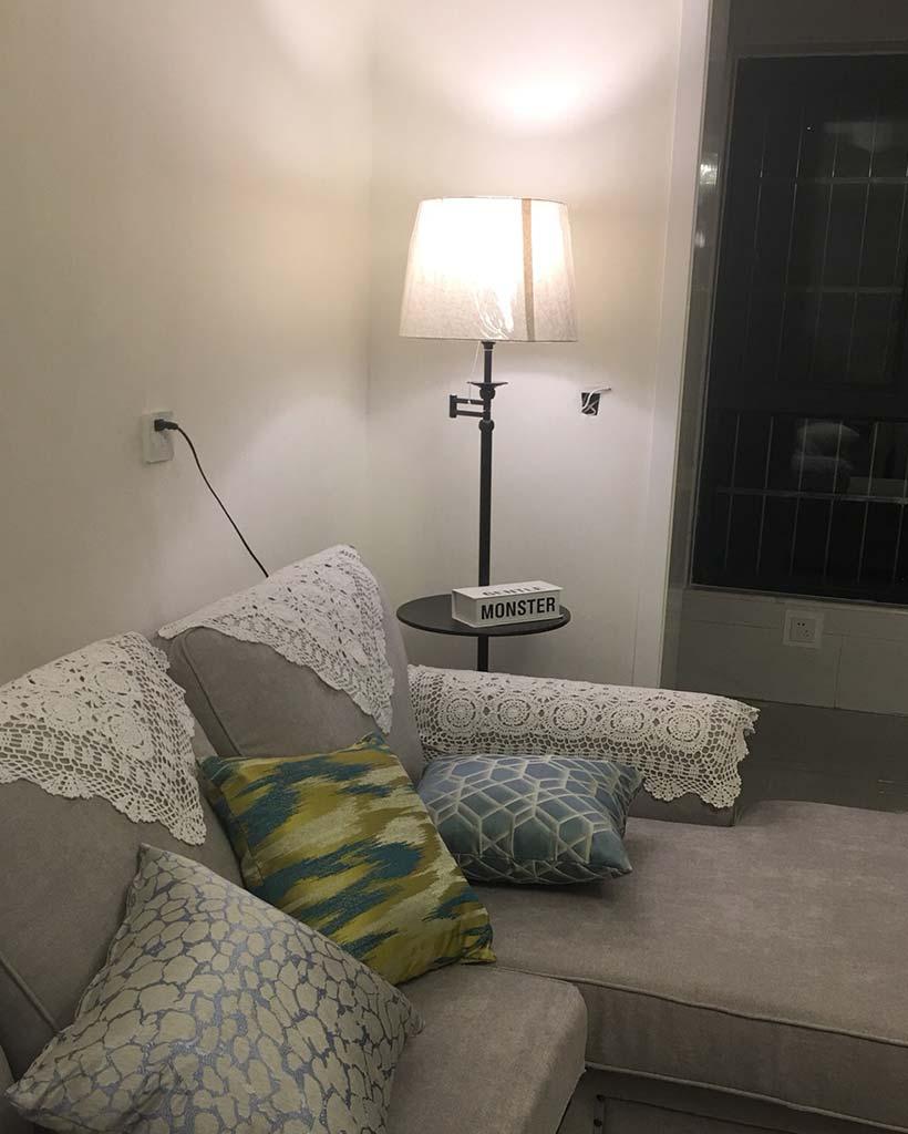 Đèn cây trang trí góc sofa hiện đại Venus LD708/1B