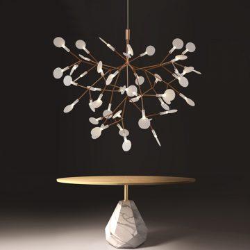 Đèn thả chùm hoa Hera VENUS 80035M
