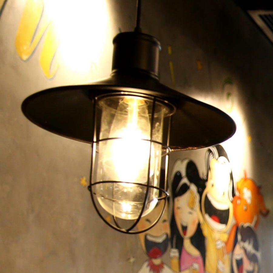 Đèn thả sắt đơn giản Venus 9047A