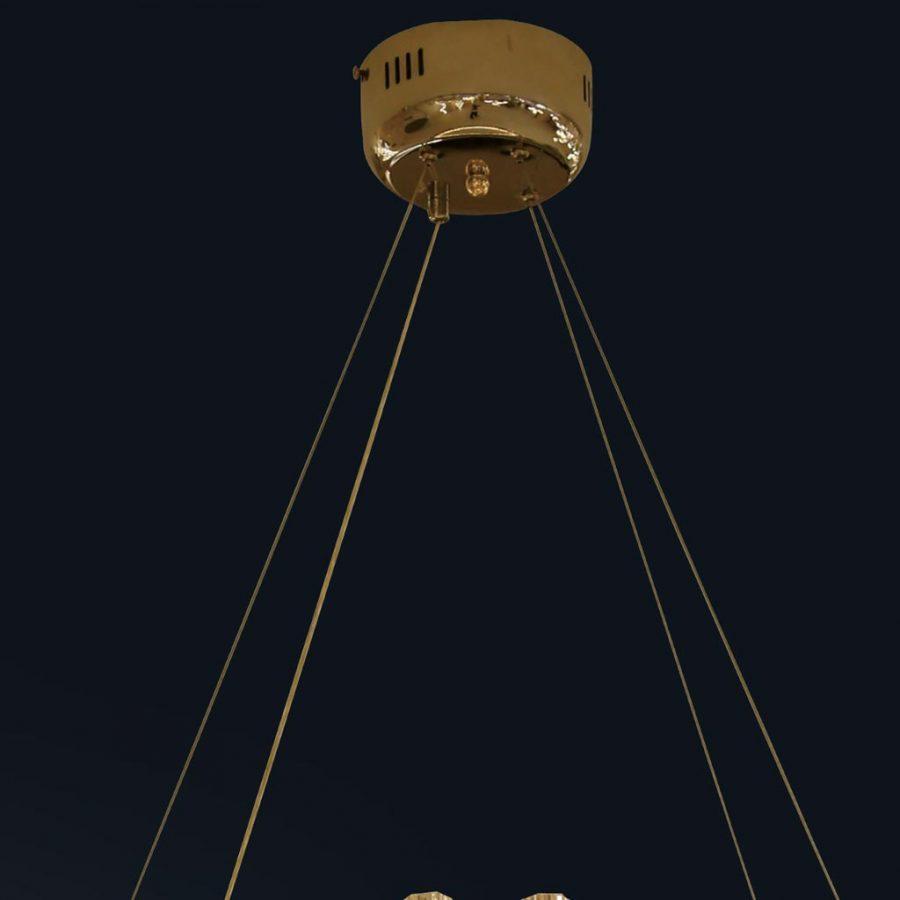 Đèn thả pha lê mâm tròn 600mm Venus CK1913