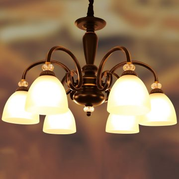 Đèn chùm tân cổ điển 6 Bóng VENUS BF8115/6