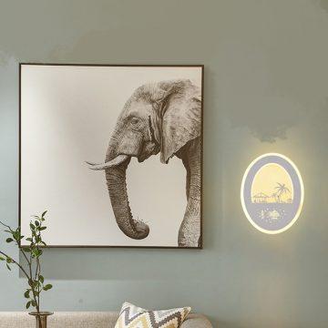 Đèn tường LED hình cây dừa VENUS KD5125