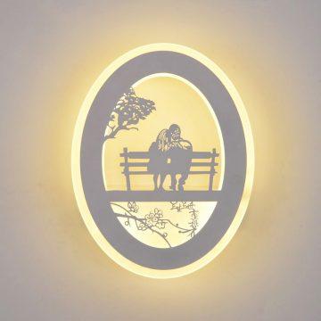 Đèn tường LED 12W tình nhân Venus KD5127