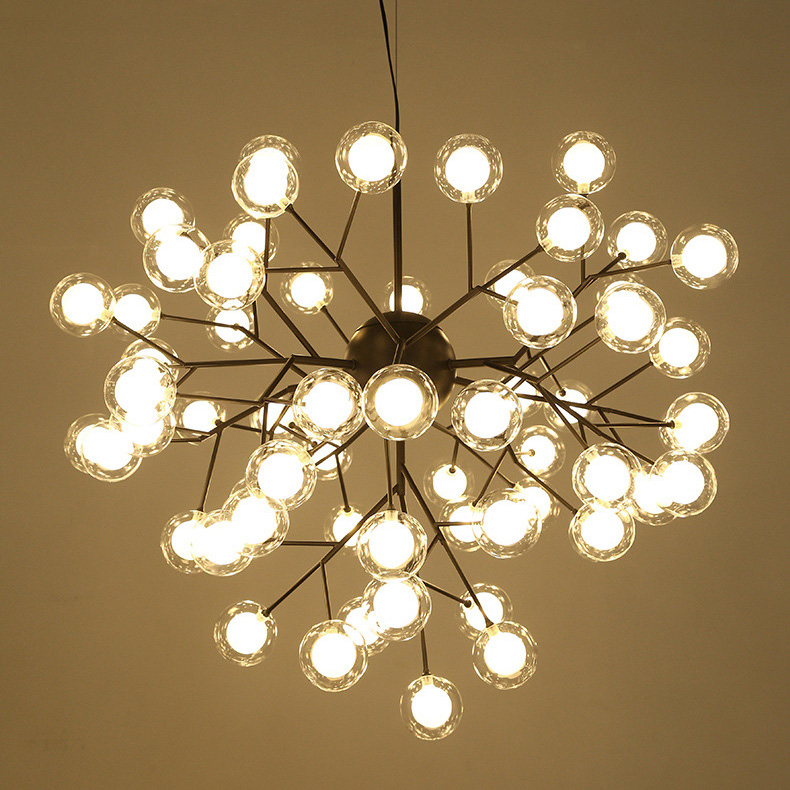 Đèn chùm 36 Bóng tròn nhỏ VENUS KDCN13318/36