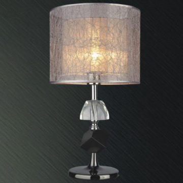 Đèn bàn chụp vải thân thủy tinh VENUS MT215