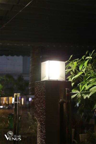 đèn trụ trang trí ngoài trời