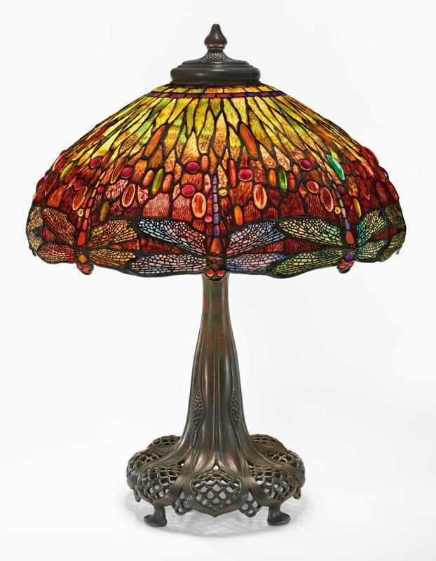 đèn chuồn chuồn nước cao cấp Tiffany