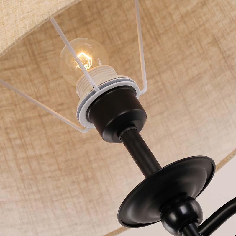 Đèn cây trụ đứng góc sofa cổ đèn xoay có khay để đồ Venus