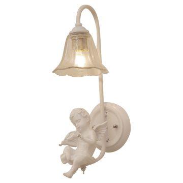 Đèn gắn tường trang trí Thiên thần nhỏ ngồi đàn chao thủy tinh