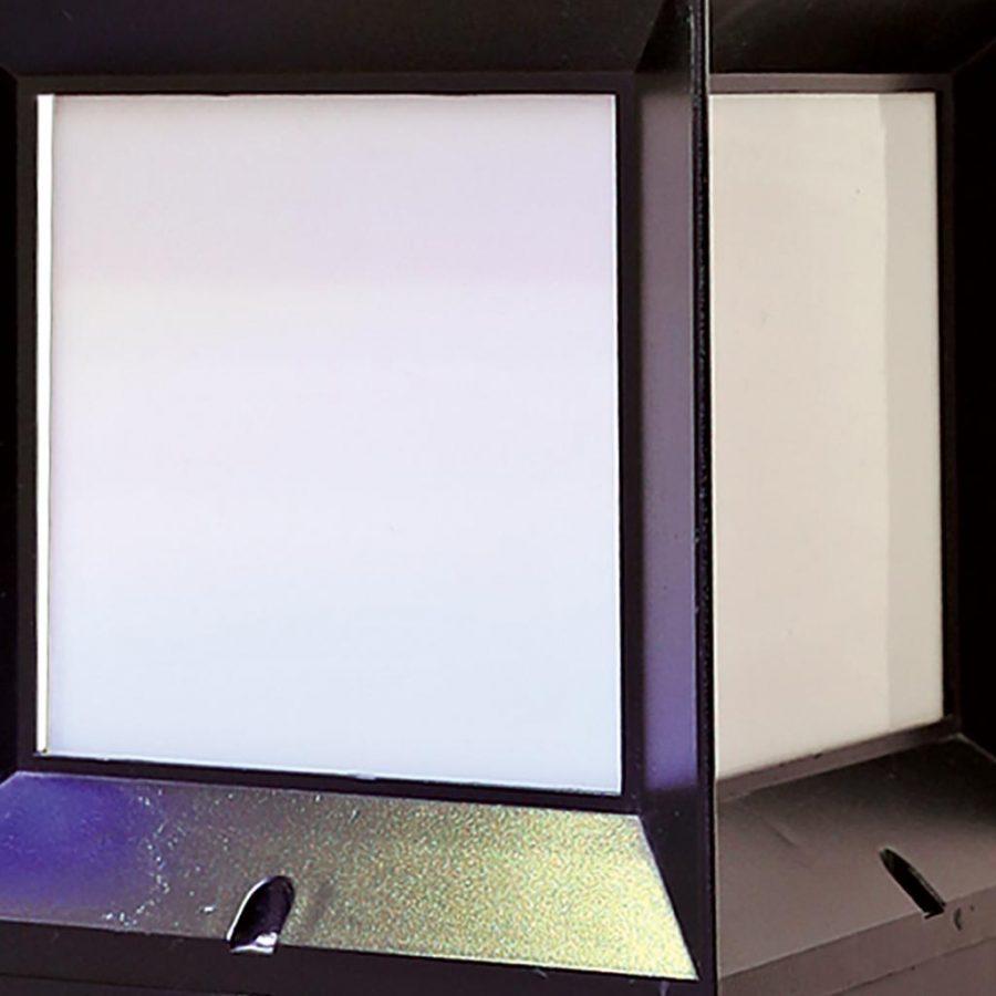 Đèn trụ cổng ngoài trời hiện đại Venus VR2091L (đen)