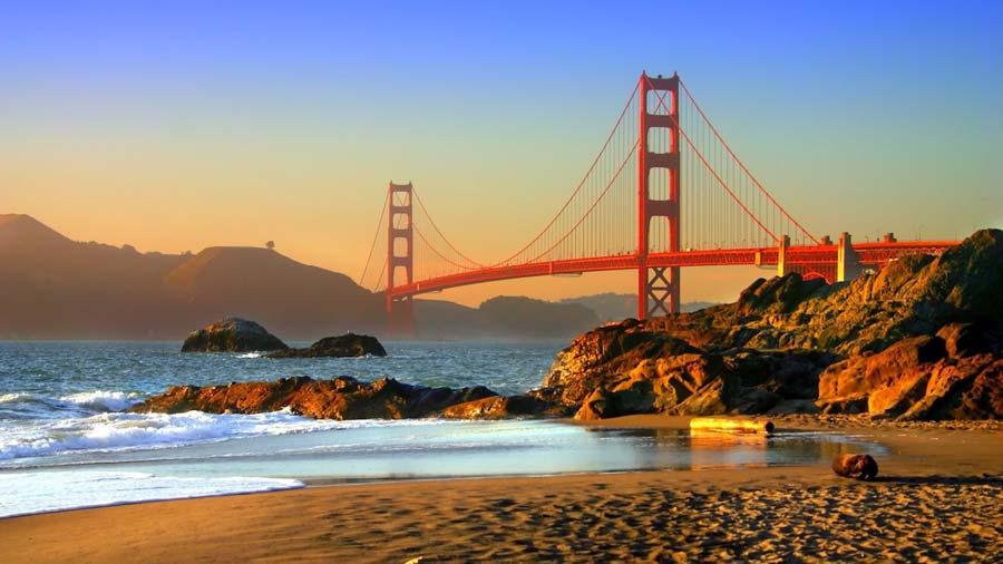 GOLDEN GATE BRIDGE, SAN FRANCISCO, Nước Mỹ