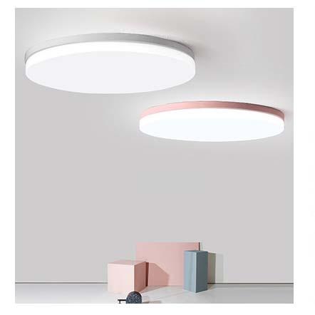 đèn ốp trần led hình tròn pastel