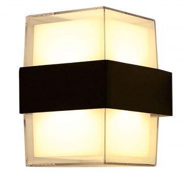 Đèn vách tường hình vuông thủy tinh Venus VR2063